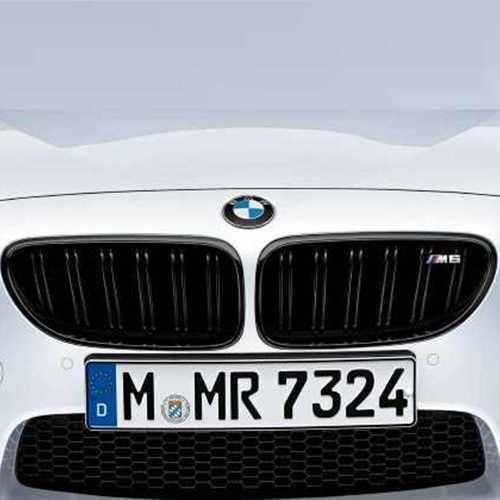 BMW純正 M Performance ブラック・キドニー・グリル(F06/F12/F13 M6)