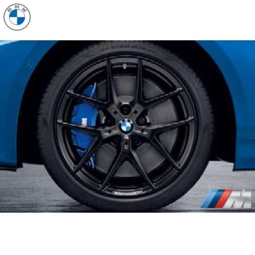 BMW純正 M Performance アロイ・ホイール Y スポーク・スタイリング 554M(ブラック)(8.0J X 18)(F40/F44)