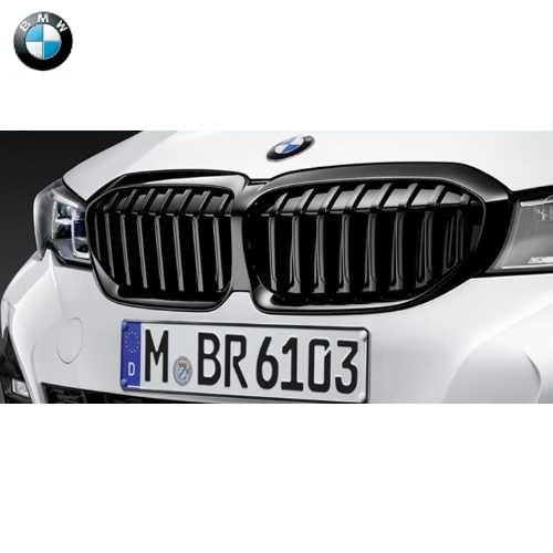 BMW純正 M Performance ブラック・キドニー・グリル(パーキングアシスト プラス(5DN)非装備車用)(G20)