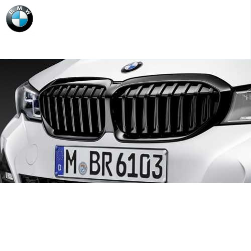 BMW純正 M Performance ブラック・キドニー・グリル(パーキングアシスト プラス(5DN)装備車用)(G20)