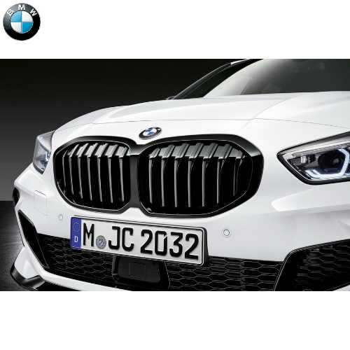 BMW純正 ブラック・キドニー・グリル(F40)