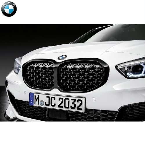 BMW純正 ブラック・キドニー・グリル(F40 M135iX)