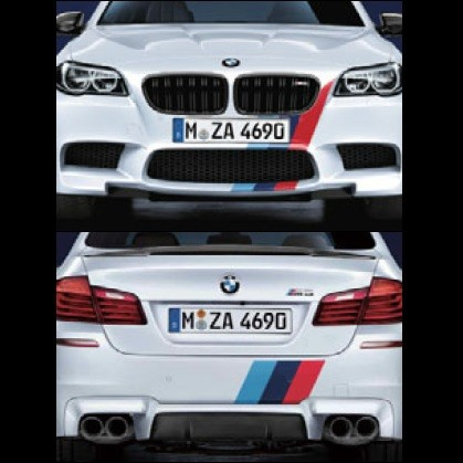 BMW純正 M Performance フロント/リヤ・ストライプ・セット(F06 M6/F12 M6/F13 M6)