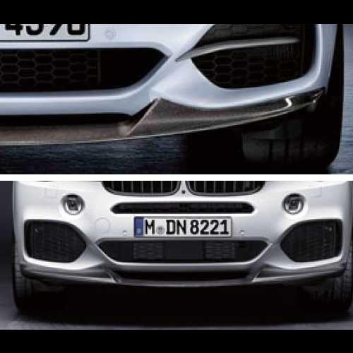 BMW純正 M Performance カーボン・フロント・スプリッター(F15)