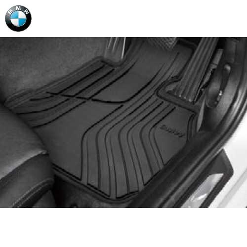 BMW純正 オール・ウェザー・フロア・マット・セット(Standard)(フロント)(右ハンドル車用)(F32/F33/F36/F82/F83)