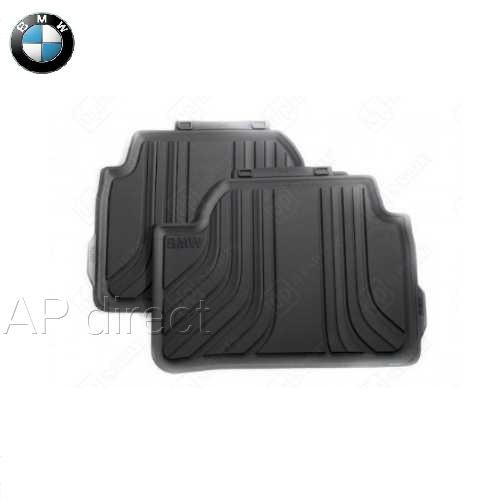 BMW純正 オール・ウェザー・フロア・マット・セット(ブラック)(リア)(F45)