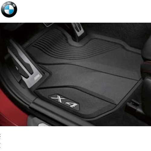 BMW純正 オールウェザー・マット・セット(フロント&リヤ)(右ハンドル車用)(G02 X4)
