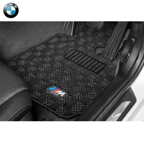 BMW純正 M フロア・マット・セット(ブラック)(フロント&リヤ)(右ハンドル車用)(G20/G21)