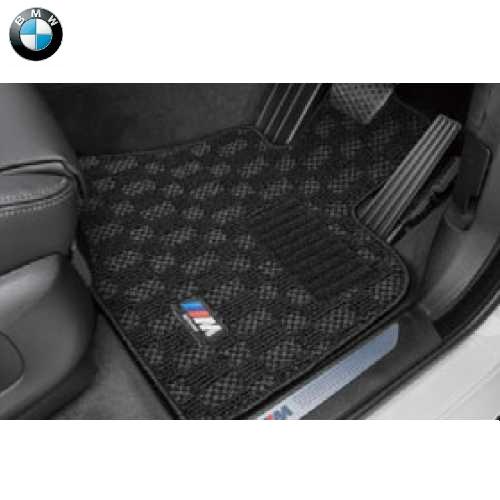 BMW純正 M フロア・マット・セット(ブラック/グレー)(右ハンドル車用)(G06 X6)