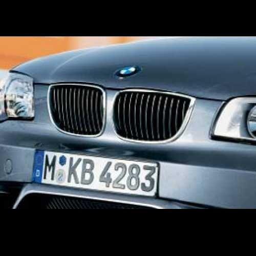 BMW純正 キドニー・グリル・クローム(E87 ~2007/3)