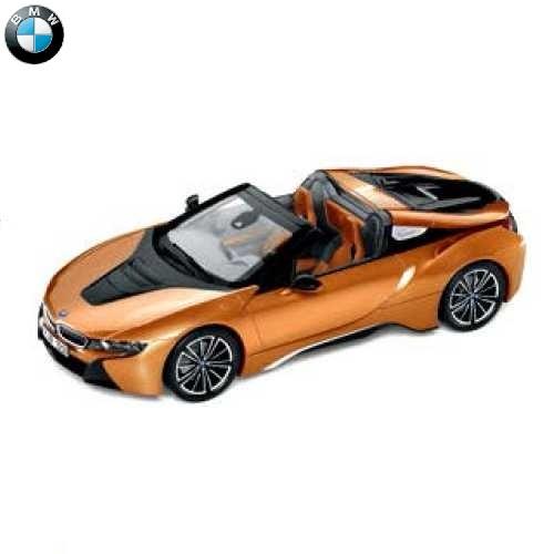 BMW ミニチュアカー i8 Roadster(サイズ:1/18)