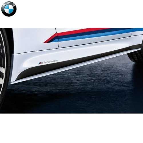 BMW純正 M Performance エアロダイナミック・パッケージ サイド・スカート(マット・ブラック(塗装可能))(M4 F82)