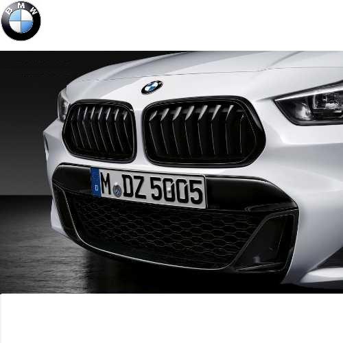 BMW純正 M Performance ブラック・キドニー・グリル(X2 F39)