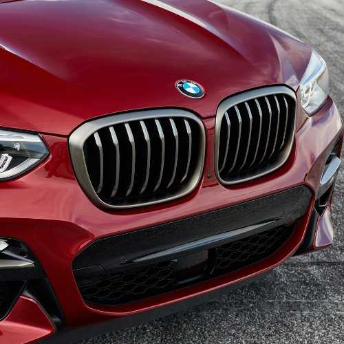 BMW純正 キドニー・グリル(セリウム・グレー)(G01 M40d/G02 M40i)