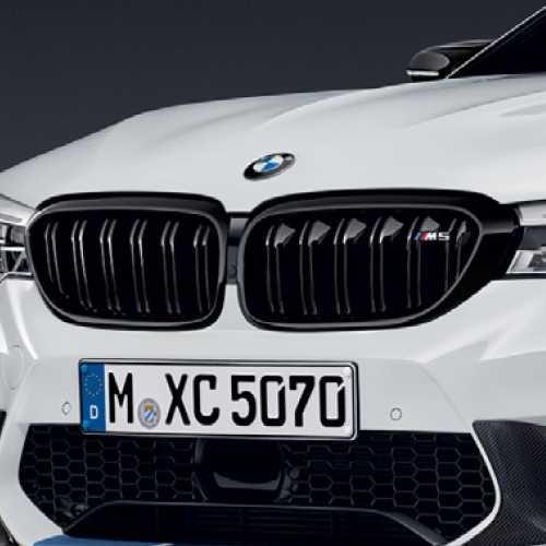 BMW純正 ブラック・キドニー・グリル(F90 M5)