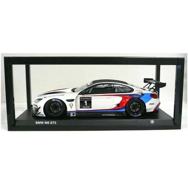 BMW ミニチュアカー M6 GT3 (サイズ:1/18)