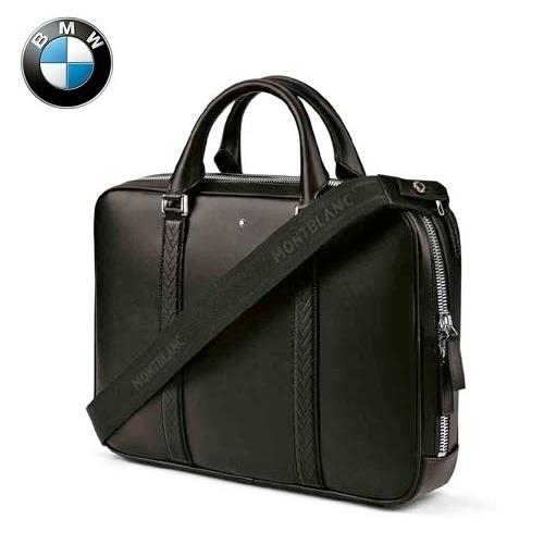 BMW純正 THEコレクション MONTBLANC FOR BMW ドキュメント・バッグ(ブラック)