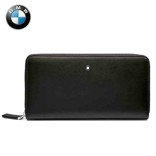 BMW純正 THEコレクション MONTBLANC FOR BMW ウォレット 財布(ブラック)