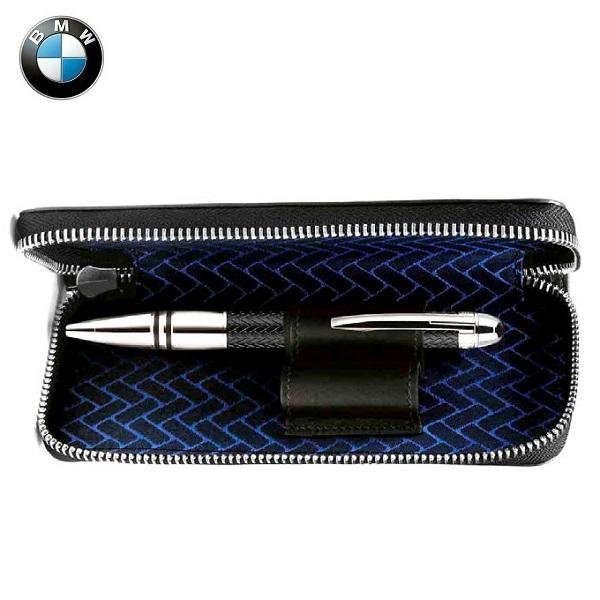 BMW純正 THEコレクション MONTBLANC FOR BMW ペン・ポーチ(ブラック)