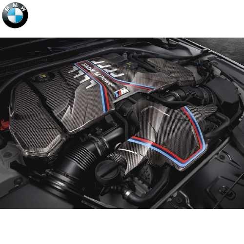 BMW純正 M Performance カーボン エンジン カバー 拡張キット(M5 F90)