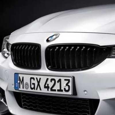 BMW純正 M Performance ブラック・キドニー・グリル(F32/F33/F36)