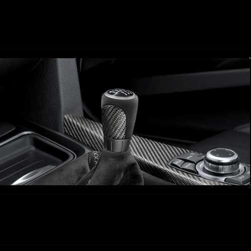 BMW純正 M Performance カーボン/アルカンタラ・シフト・ノブ(左ハンドル車用)