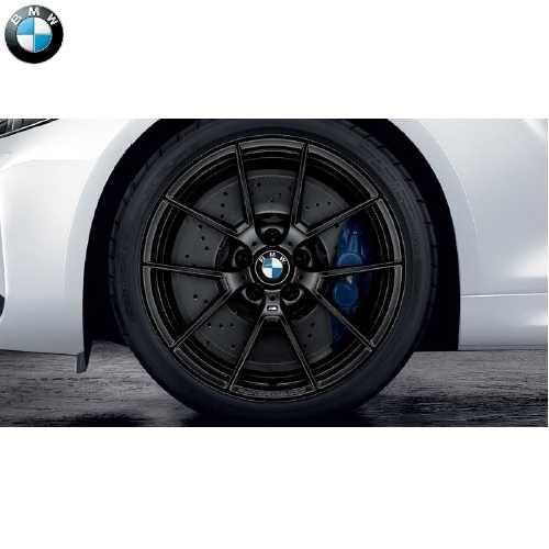 BMW純正 M Performance Yスポーク・スタイリング763M(ジェット・ブラック)(10.0J X 19)(F87)