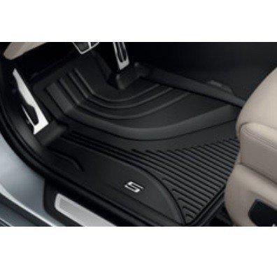 BMW純正 オール・ウェザー・フロア・マット(ブラック)(フロント)(左ハンドル車用)(G30/G31)