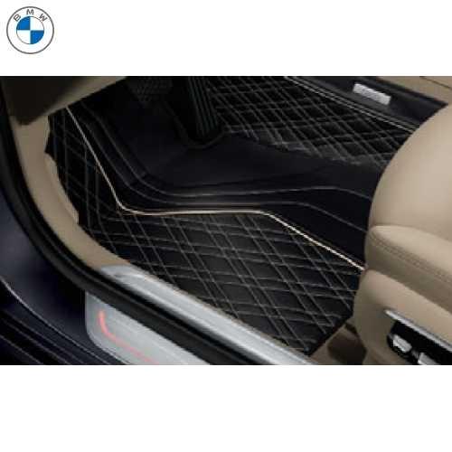 BMW純正 フロアー・マット(Exclusive)(フロント&リヤ)(左ハンドル車用)(G12 750Li)
