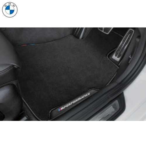 BMW純正 M performance フロアーマットセット(ベロア)(フロント・リヤ)(右ハンドル車用)(G01 X3)