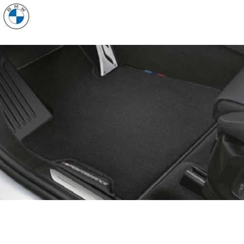 BMW純正 M Performance フロアーマットセット(ベロア)(フロント&リヤ)(右ハンドル車用)(G07)
