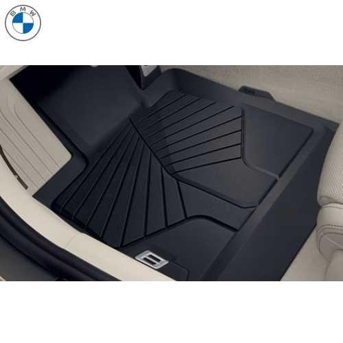 BMW純正 オール・ウェザー・フロア・マット(ブラック)(フロント)(右ハンドル車用)(G14/G15/G16)