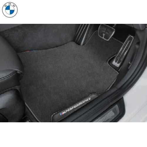 BMW純正 M Performance フロアーマットセット(ベロア)(フロント&リヤ)(右ハンドル車用)(F87 COMPETITION)