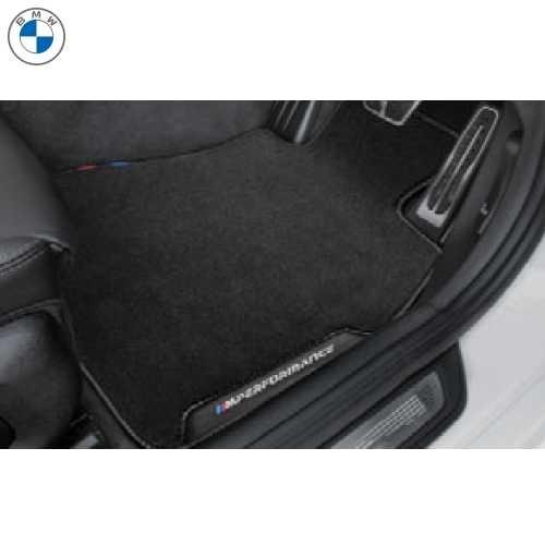 BMW純正 M Performance フロアーマットセット(ベロア)(フロント&リヤ)(右ハンドル車用)(G32)