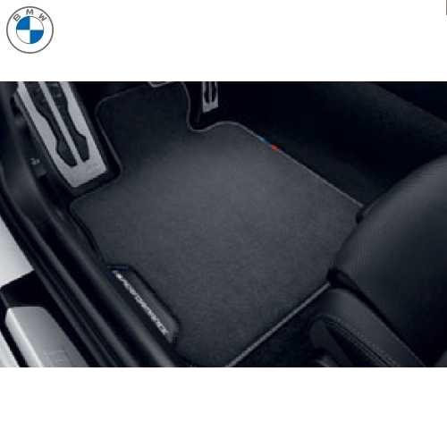 BMW純正 M Performance フロアーマットセット(ベロア)(フロント&リヤ)(左ハンドル車用)(G16/F93)