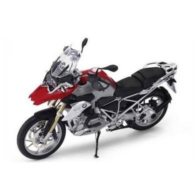BMW ミニチュア バイク R 1200 GS (レーシング・レッド)(サイズ:1/10)