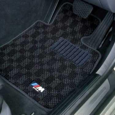 BMW純正 M フロア・マット・セット(ブラック/グレー)(左ハンドル車用)(E63)