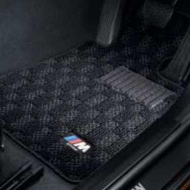 BMW純正 M フロア・マット・セット(ブラック/グレー)(右ハンドル車用)