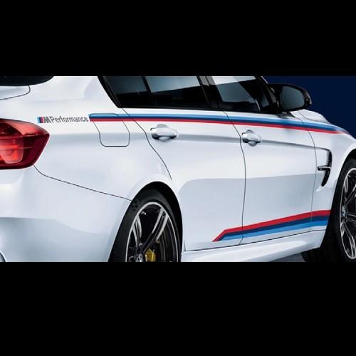 BMW純正 M Performance モータースポーツ・ストライプ(M3 F80)