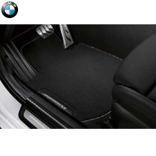 BMW純正 M Performance フロアーマットセット(ベロア)(フロント&リヤ)(左ハンドル車用)(G20/G21)