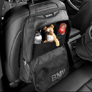 BMW純正 シート・バック・ストレージ・ポケット ブラック(Standard)