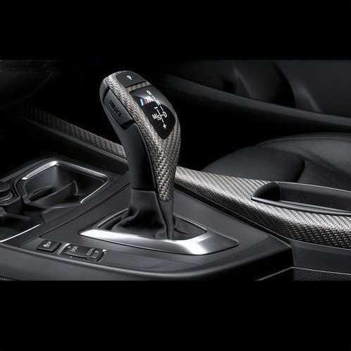 BMW純正 M Performance カーボン セレクター レバー グリップ カバー(スポーツ AT車用)(F06/F07/F10/F11/F12/F13)
