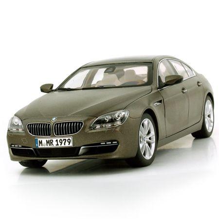 BMW ミニチュアカー 6シリーズ グラン クーペ F06 (フローズン ブロンズ)(サイズ:1/18)