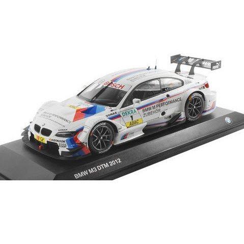 "BMW ミニチュアカー M3 DTM 2012 ""BMW M Performance""(サイズ:1/18)"