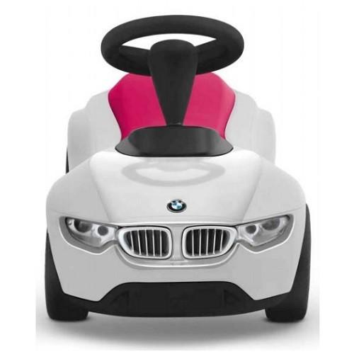 BMW純正 ベビーレーサー3 ホワイト/ラズベリー  乗用玩具 足けりのりもの