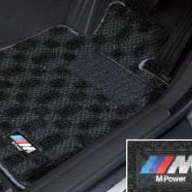 BMW純正 M フロア・マット・セット(ブラック/グレー)(左ハンドル車用)(5シリーズ F10/F11~2013.07)