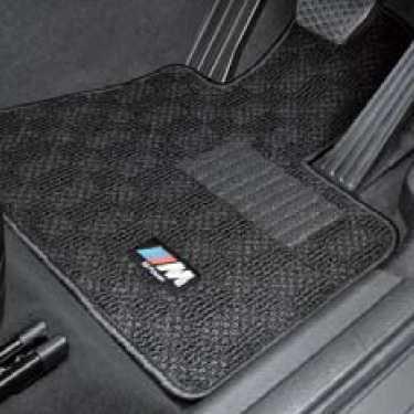 BMW純正 M フロア・マット・セット(ブラック/グレー)(右ハンドル車用)(F25)