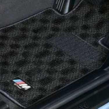 BMW純正 M フロア・マット・セット(ブラック/グレー)(左ハンドル車用) (F33)