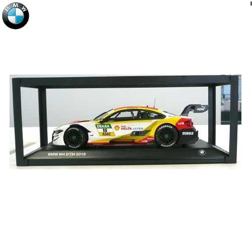 BMW ミニチュアカーBMW M4 DTM 2018 Shell(サイズ:1/18)