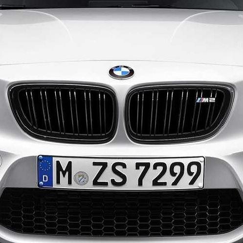 BMW純正 M Performance ブラック・キドニー・グリル(F87 M2)